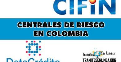 Centrales de Riesgo de Credito en Colombia