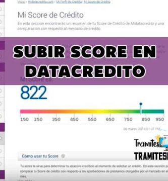 Subir Score en Datacredito