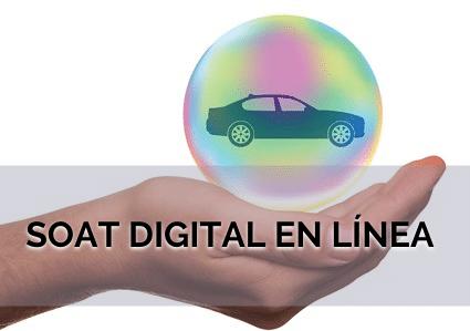 SOAT digital en línea
