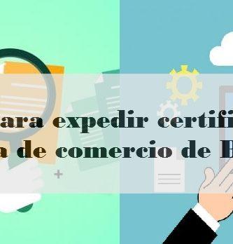 Pasos para expedir certificado de cámara de comercio de Bogotá
