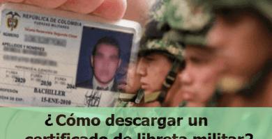 Cómo descargar un certificado de libreta militar y evitar filas