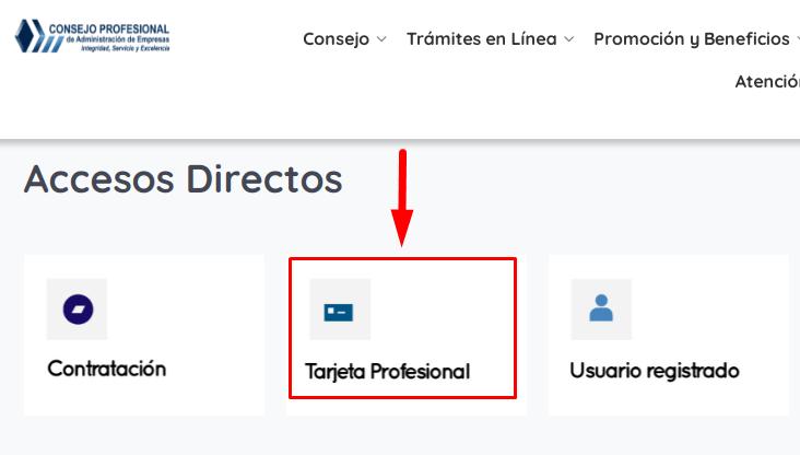 C:\Users\Francisco\Pictures\Cómo tramitar la tarjeta profesional administrador de empresas Paso 1.png