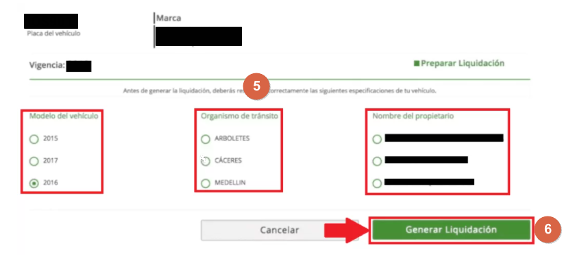 C:\Users\Garri\Desktop\Paga el impuesto vehicular Antioquia desde la web paso 6.png