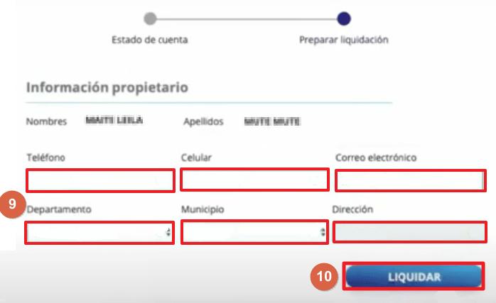 C:\Users\Garri\Desktop\Pago online del impuesto vehicular en Cali paso 10.png