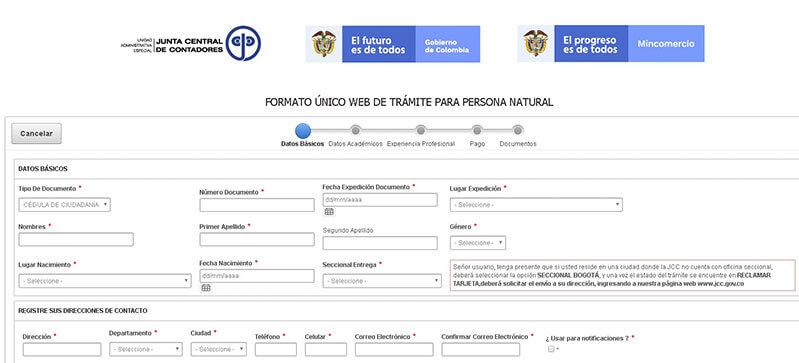 C:\Users\Francisco\Pictures\Cómo solicitar la tarjeta profesional de contador paso 2.png