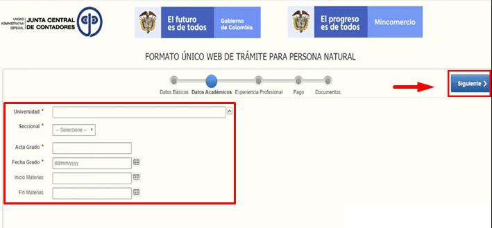 C:\Users\Francisco\Pictures\Cómo solicitar la tarjeta profesional de contador paso 5.png