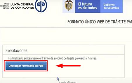 C:\Users\Francisco\Pictures\Cómo solicitar la tarjeta profesional de contador paso 13.png