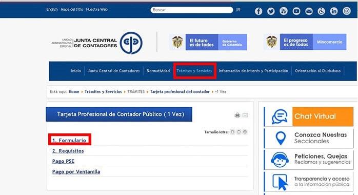 C:\Users\Francisco\Pictures\Cómo solicitar la tarjeta profesional de contador paso 1.png